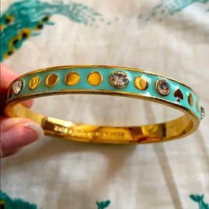 Mint Blue Kate Spade Bangle